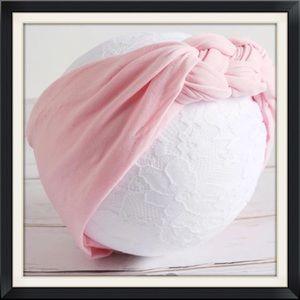 Other - Boutique Baby Girls Pink Twist Headband
